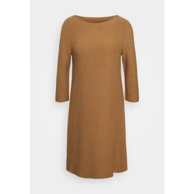 マルコポーロ レディース ドレス Jumper dress - true camel