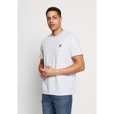 ライルアンドスコット Tシャツ メンズ トップス BRETON STRIPE  - Print T-shirt - pool blue/ white