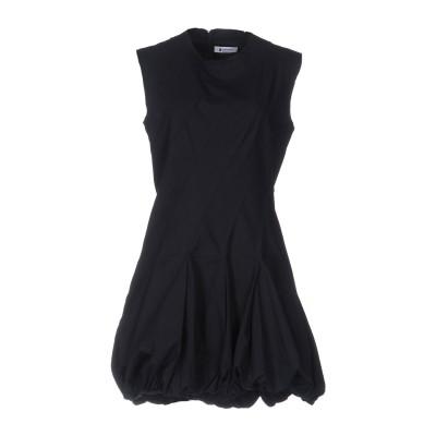 ドンダップ DONDUP ミニワンピース&ドレス ダークブルー 42 コットン 100% ミニワンピース&ドレス