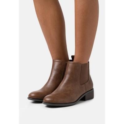 ドロシー パーキンス ブーツ&レインブーツ レディース シューズ WIDE FIT MAPLE CHELSEA  - Ankle boots - tan