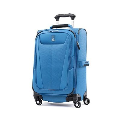 Travelpro Maxlite 5-Softside Expandable Spinner Wheel Luggage, Azure Blue, Carry-On 21-Inch【並行輸入品】