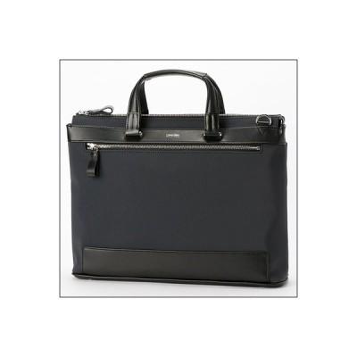 カルバンクライン イーブン A4ビジネスバッグ ネイビー Calvin Klein PLATINUM ラッピング無料