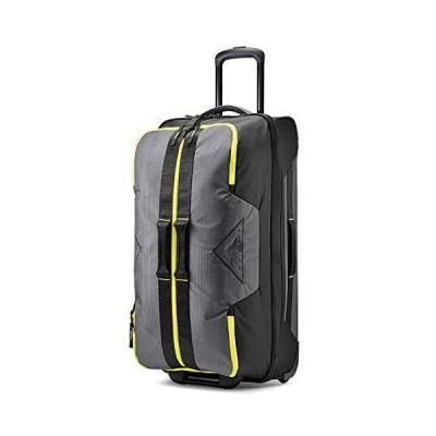 High Sierra Dells Canyon 28-Inch Wheeled Duffel Bag - Large Rolling Duffel Bag - Travel Duffel Bag with Wheels Mercury/Black/Glow 並行輸