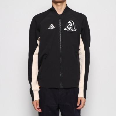 アディダス adidas メンズ スウェットフルジップ MVRCTジャケット EA0372 (ブラック)