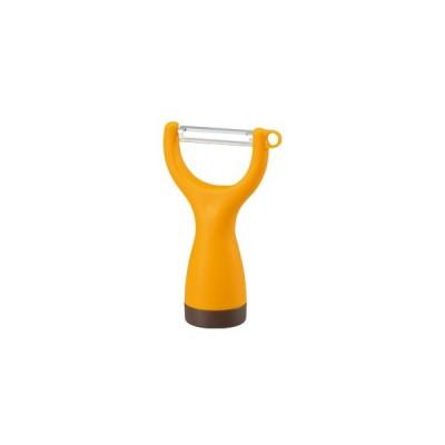 曙産業 スイングピーラー オレンジ PM-1437【立つ/たつ/ピーラー/キッチンツール/可愛い/皮むき】