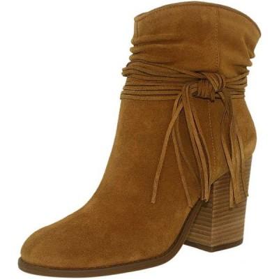 ブーツ シューズ 靴 長靴 ジェシカシンプソン Jessica Simpson レディース Sesley スエード アンクル スエード ブーツ Honey Brown
