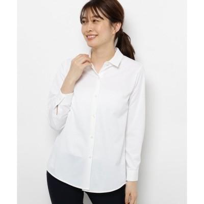 シャツ ブラウス 【手洗い可】ベーシックシャツ
