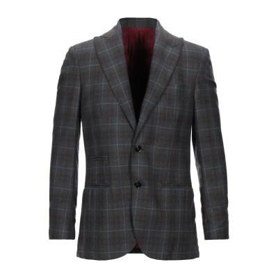 ROYAL ROW テーラードジャケット 鉛色 50 ウール 100% テーラードジャケット