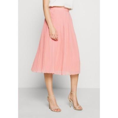 エヌ エー ケイ ディ スカート レディース ボトムス PLEATED SKIRT - A-line skirt - pink