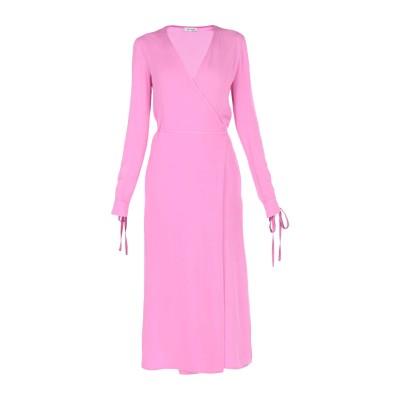 アティコ THE ATTICO ロングワンピース&ドレス ピンク 40 アセテート 75% / レーヨン 25% ロングワンピース&ドレス