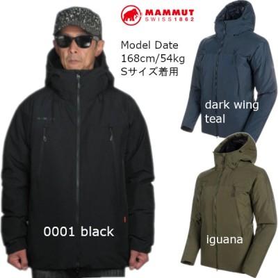 マムート MAMMUT ダウンジャケット ゴアテックス メンズ Crater SO Thermo Hooded Jacket AF Men 1011-00780 2020秋冬新作 送料無料(中国,四国,九州除く)