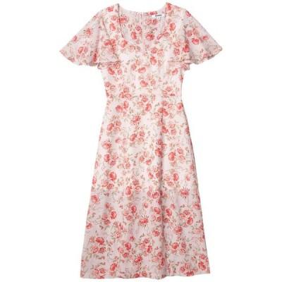 """ビービーダコタ レディース ワンピース トップス Endless Love """"Fairy Rose"""" Printed CDC Midi Dress"""