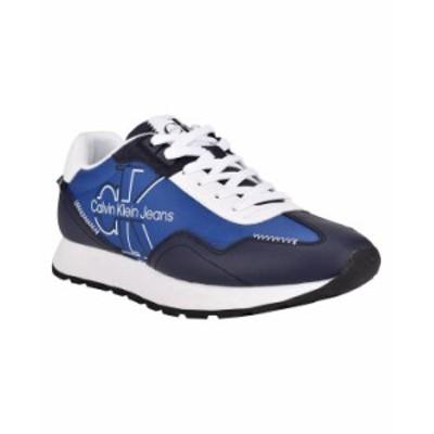 カルバンクライン メンズ スニーカー シューズ Men's Eden Sneakers Navy Blue