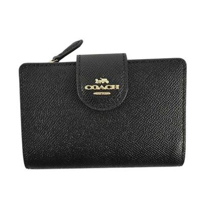 コーチ 財布 二つ折り財布 COACH  6390  IMBLK   レザー  比較対照価格29,990 円