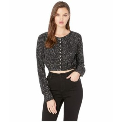 Amuse Society アミューズソサイエティー 服 一般 Isnt She Charming Woven Cropped Top