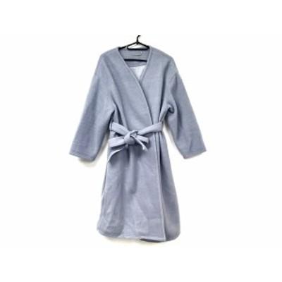 ミラオーウェン Mila Owen コート サイズ0 XS レディース 美品 ライトブルー 冬物【中古】20191123