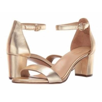 Naturalizer ナチュラライザー レディース 女性用 シューズ 靴 ヒール Vera Dark Gold Metallic Leather【送料無料】