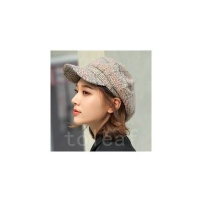 キャスケット帽子レディースキャップぼうしハットあったか暖かい防寒小顔効果日よけUVカット厚手紫外線対策防寒対策おしゃれ秋物冬物
