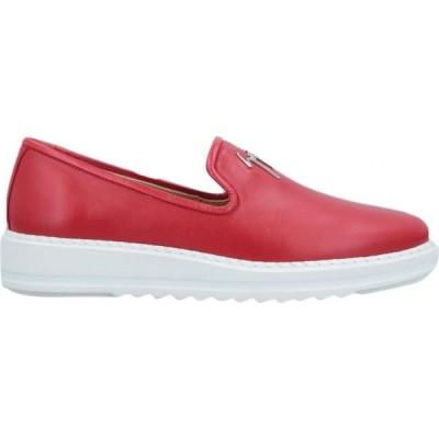 ジュゼッペ ザノッティ GIUSEPPE ZANOTTI メンズ ローファー シューズ・靴 loafers Red