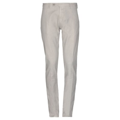 ベルウィッチ BERWICH パンツ ライトグレー 50 コットン 67% / 麻 31% / ポリウレタン 2% パンツ