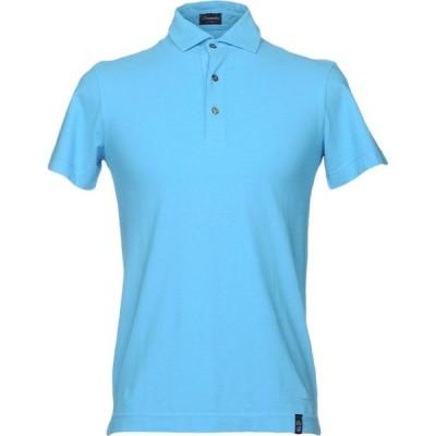 ドルモア DRUMOHR メンズ ポロシャツ トップス Polo Shirt Azure