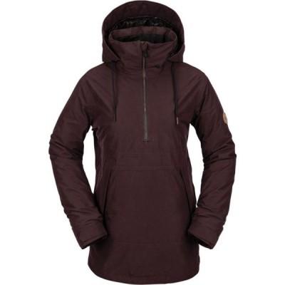 ボルコム Volcom レディース スキー・スノーボード アノラック ジャケット アウター fern insulated gore-tex anorak snowboard jacket Black Red