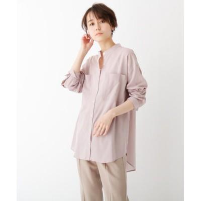OPAQUE.CLIP / スーパーハイカウントコットン シアービッグシャツ WOMEN トップス > シャツ/ブラウス