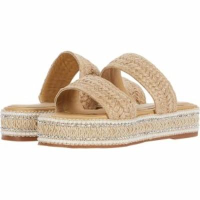 カーナス KAANAS レディース サンダル・ミュール シューズ・靴 Ischia Two-Strap Pearl Yute Flatform Natural