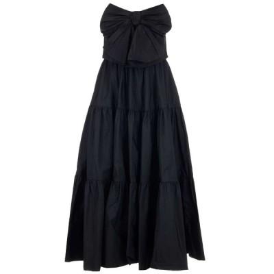 レッドヴァレンティノ レディース ワンピース トップス REDValentino Bow Detail Tiered Dress -