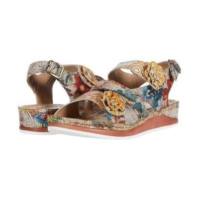 L'Artiste by Spring Step ラーティスト レディース 女性用 シューズ 靴 サンダル Joelina - Beige Multi