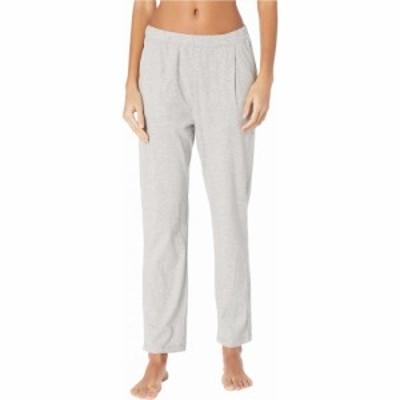 スキン Skin レディース クロップド アンクル ボトムス・パンツ Natural Elaine Organic Cotton Ankle Pants Heather Grey