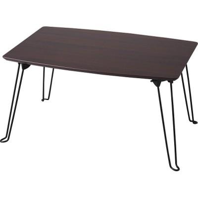 折れ脚テーブル60 LT-6033 BR