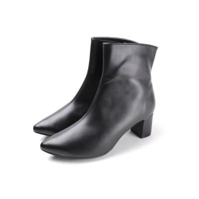 Shoe Fantasy / 晴雨兼用チャンキーショートブーツ【日本製】 WOMEN シューズ > ブーツ
