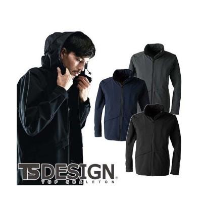 防寒ジャンパー 藤和 TS Design TS TEX オールウェザージャケット 9216 作業着 防寒 作業服 防風 透湿 耐水 ストレッチ