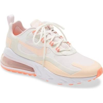 ナイキ NIKE レディース スニーカー エアマックス 270 シューズ・靴 Air Max 270 React Sneaker White/Crimson/Light Violet