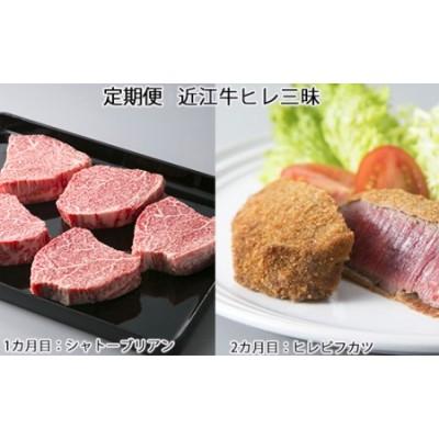 300H04 定期便 近江牛ヒレ三昧[高島屋選定品]