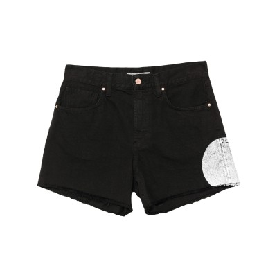DON THE FULLER デニムショートパンツ ブラック 25 コットン 100% デニムショートパンツ