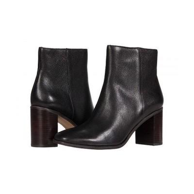 Madewell レディース 女性用 シューズ 靴 ブーツ アンクル ショートブーツ Malone Square Toe Bootie - True Black Leather