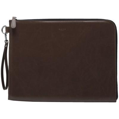 【ジーナイン】 クラッチバッグ PCケース ドキュメンケース クラッチ bag ヴィンテージ PU レザー クラッチバッグ ビジネス   カジュアル MacBook iPad ユニセックス その他系2 FREE G.NINE