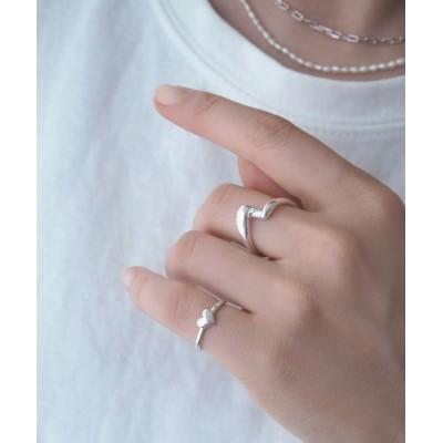 Jenny BY IMMANOEL / silver925 ひねりリング WOMEN アクセサリー > リング