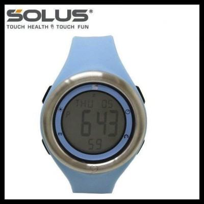 ソーラス 腕時計 防水 SOLUS 01-910-002 ライトブルー メンズ 男性 レディース 女性 スポーツ ダイエット エクサ サイズ 国内正規品