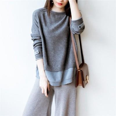 ニット セーター 高品質 カシミヤ 着心地いい サイズ 選択可能