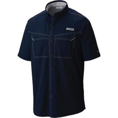 (取寄)コロンビア メンズ ロウ ドラッグ オフショア ショートスリーブ シャツ Columbia Men's Low Drag Offshore SS Shirt Collegiate Na