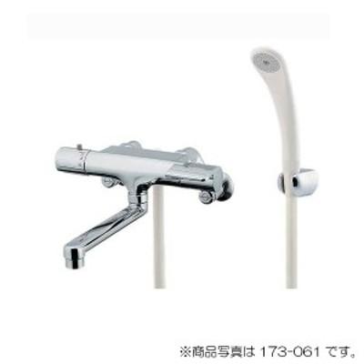 カクダイ サーモスタットシャワー混合栓 寒冷地用 【品番:173-061K-220】