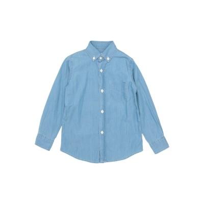 HARTFORD デニムシャツ ブルー 4 コットン 100% デニムシャツ
