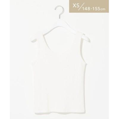 green label relaxing/グリーンレーベル リラクシング [ XS / H148-155cm ] ★★ SC タンクトップ OFF WHITE XS