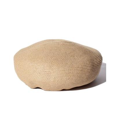 【メルローズ クレール】 ベレー帽 レディース ベージュ F MELROSE Claire