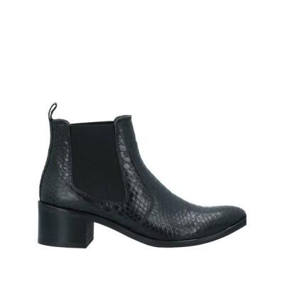 KANNA ショートブーツ  レディースファッション  レディースシューズ  ブーツ  その他ブーツ ブラック