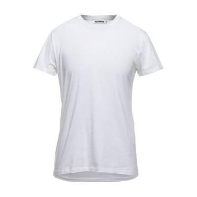 ジル サンダー JIL SANDER T シャツ ホワイト M コットン 100% T シャツ