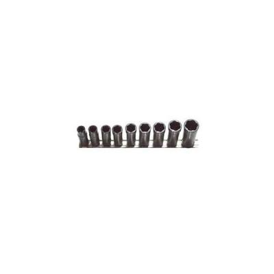 H.b. Products Inc TSMD3809B 9 Piece 3/8 Drive Deep Metric Turbo Socket Set